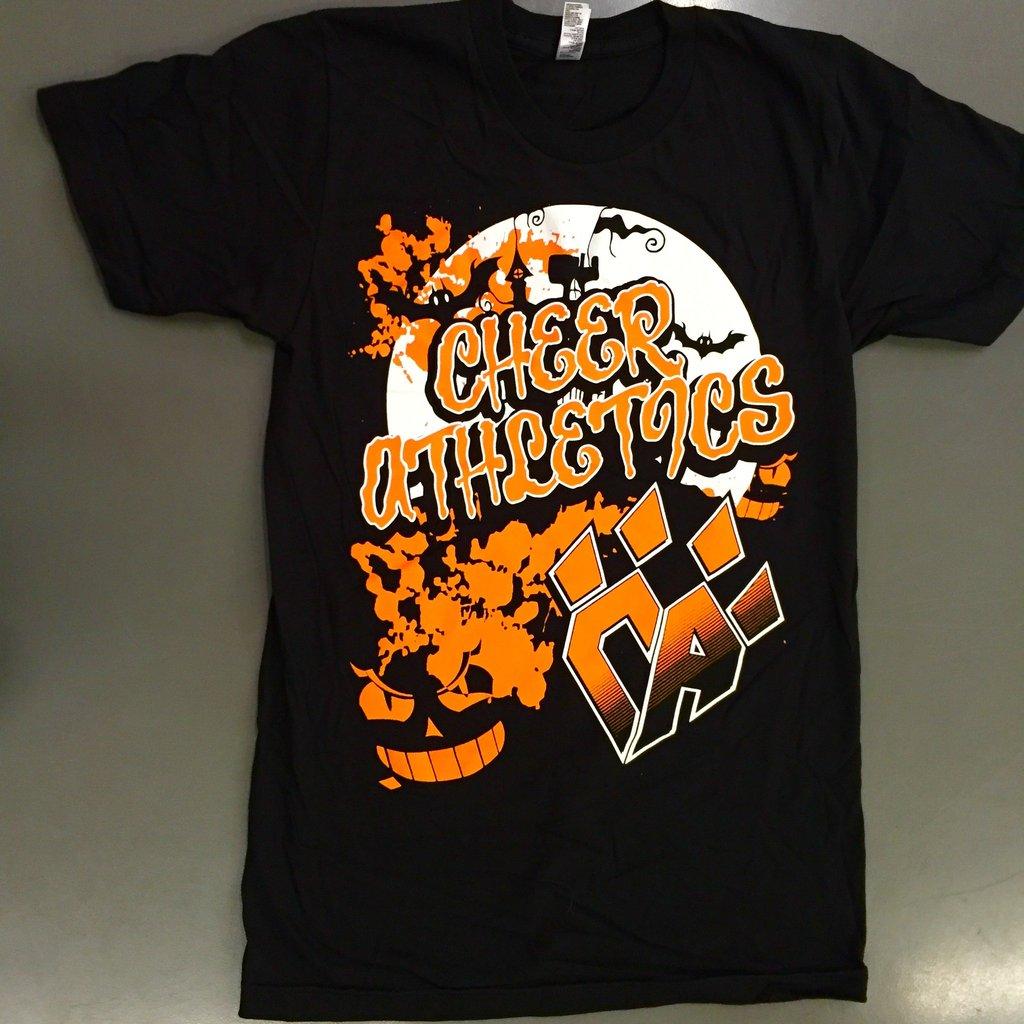 halloween t-shirt – cheer athletics proshop